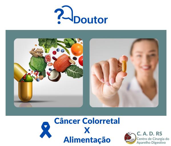 cancer colorretal x alimentaçao